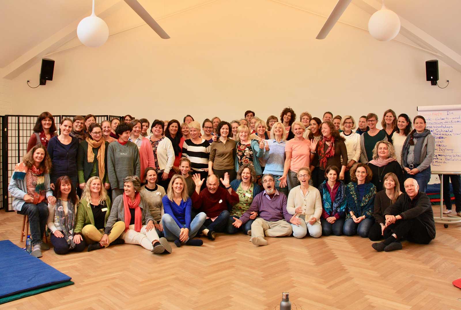 """Fortbildung 2019 mit Ray Castellino zum Thema """"Somatic Blueprint als die primäre Resource zur Heilung und Integration der Folgen traumatischer Geburten"""""""